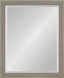 Kate and Laurel Dalat Framed Beveled Wall Mirror, 26x32, Graywash