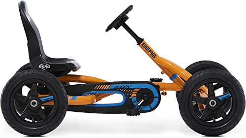 Berg Pedal Car Buddy B-Orange | Pedal Go Kart, Ride On Toys for Boys and Girls, Go Kart, Outdoor Games and Outdoor To...