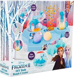 Frozen 2 Kit Para Hacer Bombas De Baño, Juego De Bombas De Jabón Efervescentes Con Moldes, Juegos Educativos para Niñas, Kit de Manualidades Con Formas Originales, Regalos Frozen Anna Elsa