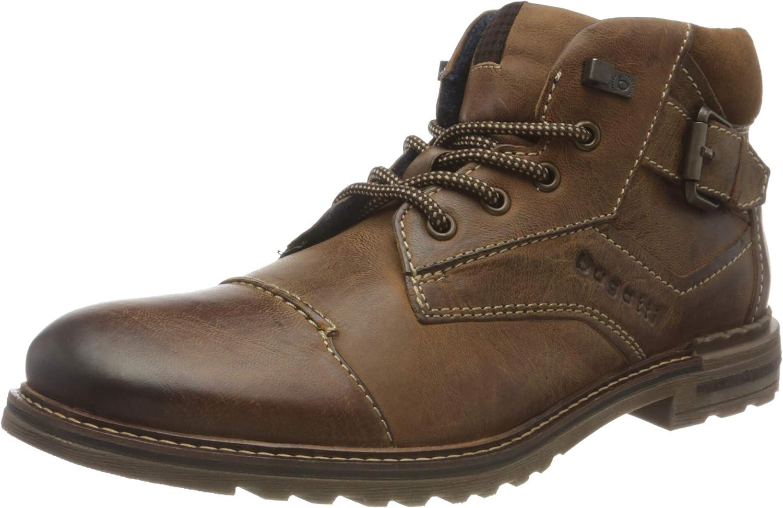 bugatti Men's 321A0U333214 Oxford Boot, Cognac, 7 UK