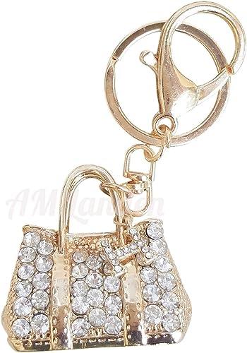 Rhinestone Key Ring Handbag Charms You choose Style New
