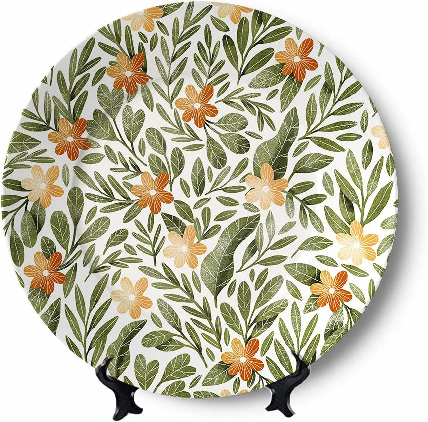Decorative Plate Ceramic for Decor Pl Wall Super beauty product restock sold out quality top