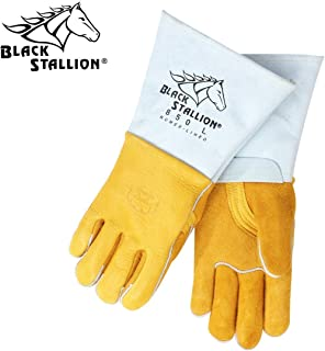 Revco 850M Flame Resistant Nomex Lined Elkskin Stick Welding Gloves M