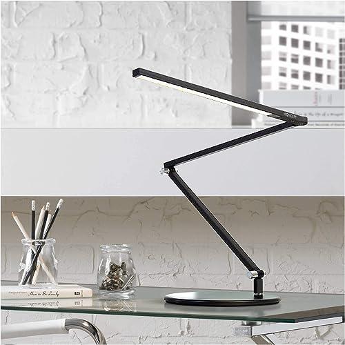 discount Koncept AR3100-WD-MBK-DSK Z-Bar Mini - 25.64 Inch outlet online sale 6.5W 1 LED Desk Lamp, lowest Metallic Black Finish online sale