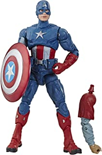 """Avengers Marvel Legends Series Endgame 6"""" Collectible Action Figure Captain America Collection, Includes 1 Accessory"""