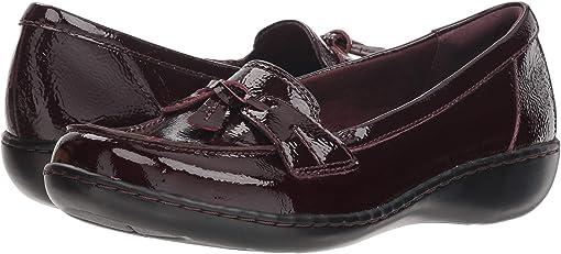 Burgundy Patent Leather