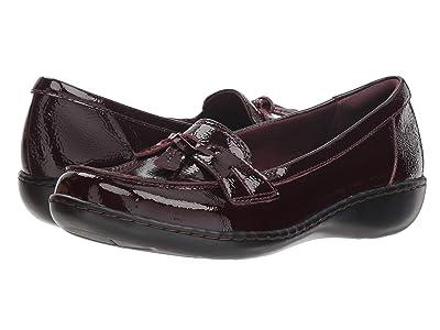 Clarks Ashland Bubble (Burgundy Patent Leather) Women