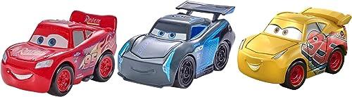 2021 Disney outlet online sale Pixar Cars Mini high quality Racers Cars 3 Series 3-Pack outlet online sale