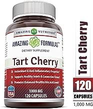 Amazing Formulas Tart Cherry Extract - 1000 Mg, 120 Capsules - Antioxidant Support - Promotes Joint Health & a Proper Uric Acid Level Balance