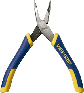 IRWIN Tools VISE-GRIP Pliers, Bent Nose with Spring, 5-Inch (2078965)