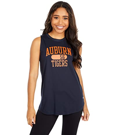 Champion College Auburn Tigers University 2.0 Tank Top (Marine Midnight Navy) Women