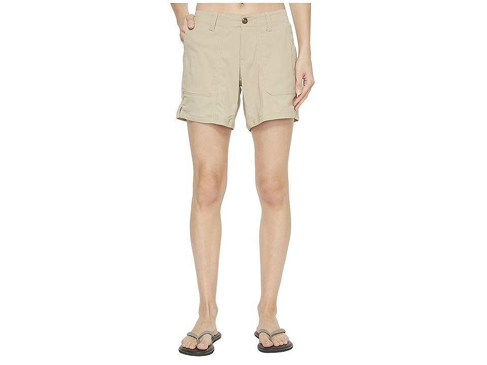 The North Face Aphrodite Ridge Shorts (Crockery Beige) Women