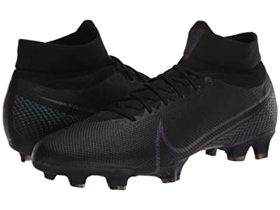 Nike Suplerfly 7 Pro FG (Black/Black) Soccer Shoes