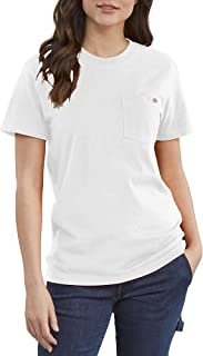 Dickies Women's Short Sleeve Heavyweight Pocket T-Shirt
