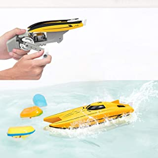 WomToy Bath Toys Toddler Bath Toys for Wind-up Power Generation Boat, Bath Boat Toys STEM Toys Educational Gift Toddler Bo...