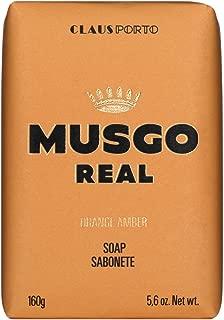 Claus Porto Men's Body Soap, Orange Amber, 5.64 oz.