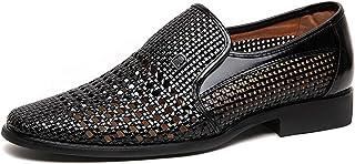 [スフォン] メンズ 夏 メッシュ 通気 ローファー 軽量 カジュアル革靴 ビジネス 紳士靴 ドライビングシューズ サンダル おしゃれ