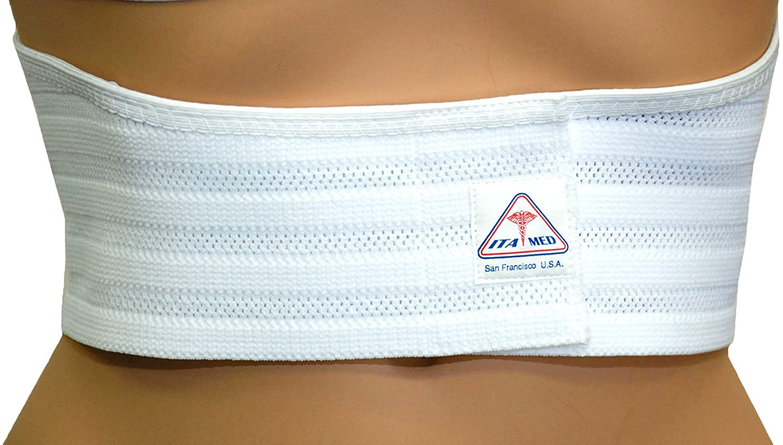 ITA-MED Breathable Elastic Rib 5 ☆ Max 49% OFF popular Support for Belt Wrap Medi Women