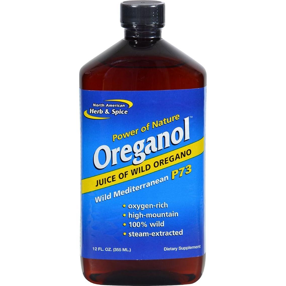 North American Herb And Spice Oreganol Juice Of Wild Oregano - 12 Fl Oz