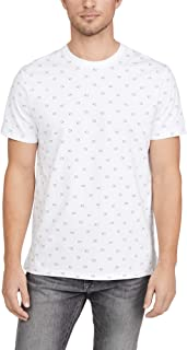 Calvin Klein Jeans Men's Short Sleeve Liquid Print Crew Neck Tee