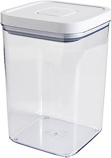OXO 7100100 Airtight Pet Food Storage POP Container,White,4.3 Quart