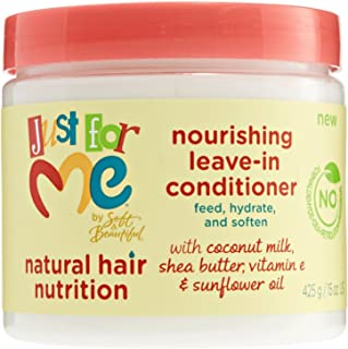Just For Me Nourishing Leave-in Conditioner, 15 Ounce