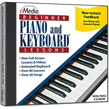 eMedia Beginner Piano and Keyboard Lessons v3