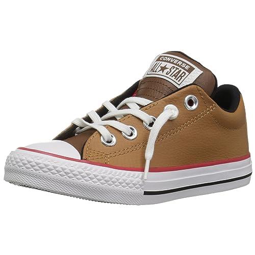 d3db487c7e15 Converse Kids  CTAS Street Slip Burnt Caramel Sneaker