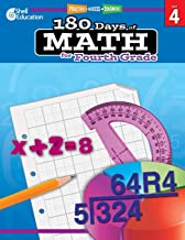 Download 180 Days of Math: Grade 4 - Daily Math Practice Workbook for Classroom and Home, Cool and Fun Math, Elementary School Level Activities Created by Teachers to Master Challenging Concepts PDF