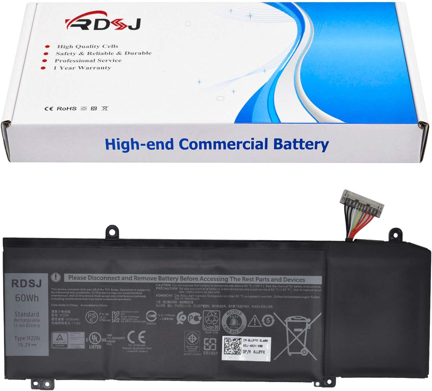 1F22N Laptop Battery for Dell Alienware R1 Courier shipping free 7790 M17 Ranking integrated 1st place 7590 G7 M15