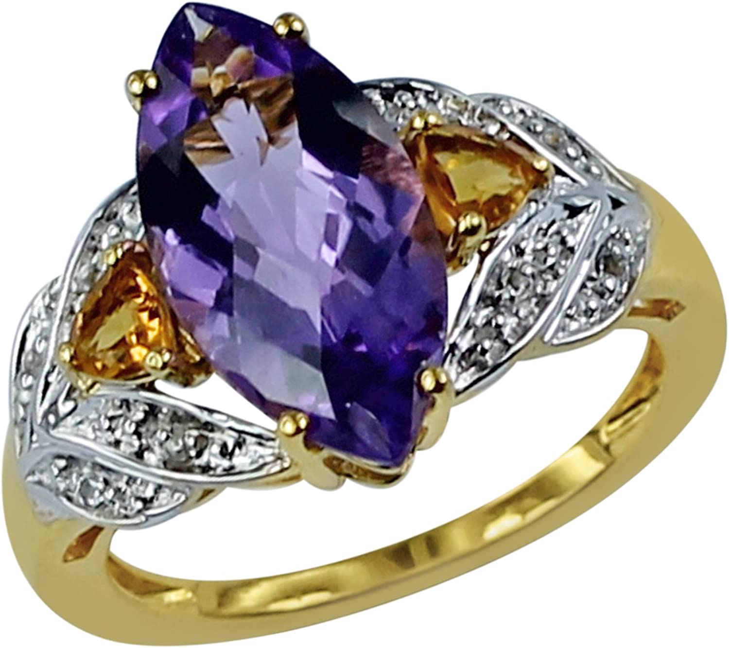Carillon 3.08 Carat Amethyst Max 43% OFF Natural Max 57% OFF Non-Treated Shape Marquise