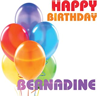 Best happy birthday bernadine Reviews