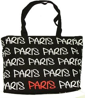 Paris Robin Ruth Shopping Bag - Black