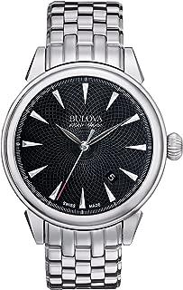 Bulova Accu Swiss 63B174Gemini Automatic Stainless-Steel Watch