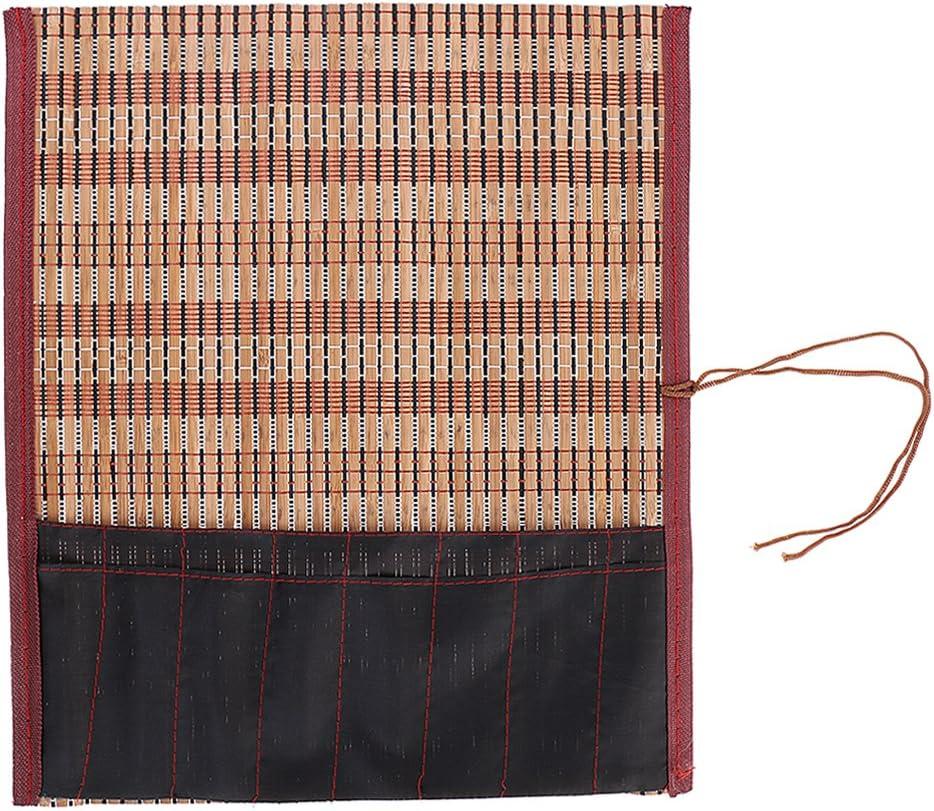 Bonarty Superlatite Bamboo Calligraphy Brush Super intense SALE Roll Case Bag Holder Chine with