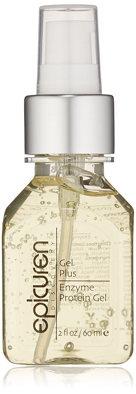 貢献増幅する塩辛いEpicuren Gel Plus Enzyme Protein Gel - For Dry, Normal & Combination Skin Types 60ml/2oz並行輸入品