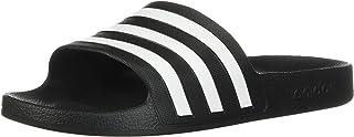 adidas Adilette Aqua Dark Blue/White Synthetic Adult Slides Sandals