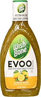 Wish-Bone E.V.O.O. Salad Dressing, Lemon Herb, 15 Ounce