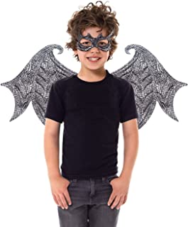 Reversible Dragon Mask and Wing Sets for Boys & Girls (Ages 3-8)