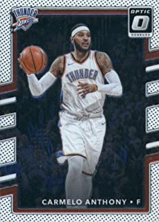 2017-18 Donruss Optic #96 Carmelo Anthony Oklahoma City Thunder Basketball Card