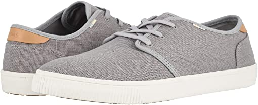 Drizzle Grey Heritage Canvas (Vegan)
