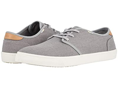 TOMS Carlo (Drizzle Grey Heritage Canvas (Vegan)) Men