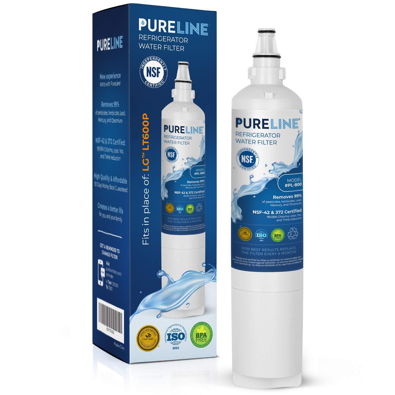 2 FRIDGE WATER FILTER For LG LT600P 5231JA2005 5231JA2006 5231JJ2001C