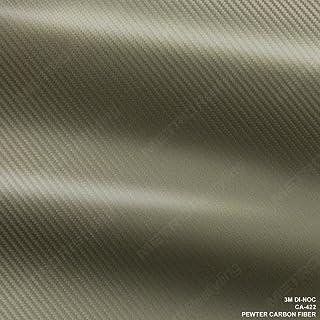"3M Scotchprint Carbon Fiber Anthracite Wrap Film 36/""x36/"" 9 sq ft."
