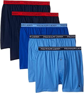 Polo Ralph Lauren Men's Classic Fit w/Wicking 5-Pack Boxers