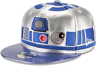 New Era Authentic R2-D2 R2D2 Premium 9FIFTY Snapback Cap Character Face