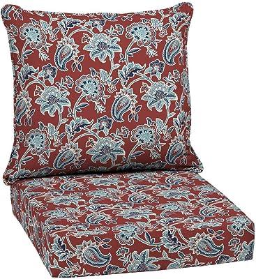 cdfa2fd92441 Arden Selections 24 x 24 Caspian 2-Piece Deep Seating Outdoor Lounge Chair  Cushion