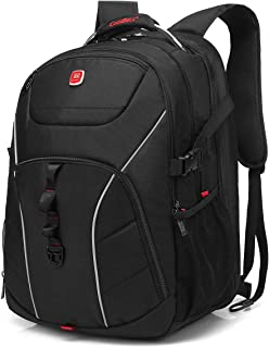 Laptop Backpack, CoolBELL 18.4 Inch Computer Bag with USB Port Water-Resistant Rucksack Hiking Knapsack Checkpoint-Friendly Backpack Fits 15-18.4 Inch Laptop for Men/Women/Business