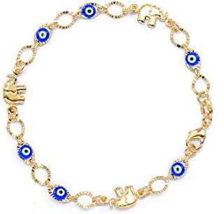 Best gold eye bracelet Reviews