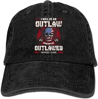 Boeshkey You May Say I'm A Dreamer Plain Adjustable Cowboy Cap Denim Hat for Women and Men